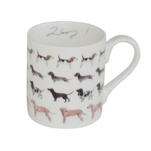 Sophie Allport 'Woof' Dog Mug