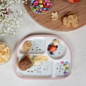 Sophie Allport 'Woodland Party' Children's Melamine Divider Plate