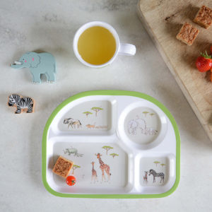 Sophie Allport 'Safari' Children's Melamine Divider Plate