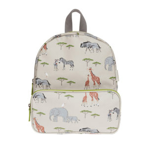Sophie Allport 'Safari' Children's Oilcloth Backpack