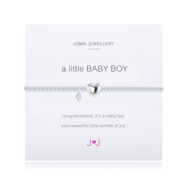A Little Baby Boy Joma Jewellery bracelet