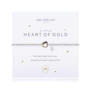 A Little Heart of Gold Joma Jewellery bracelet