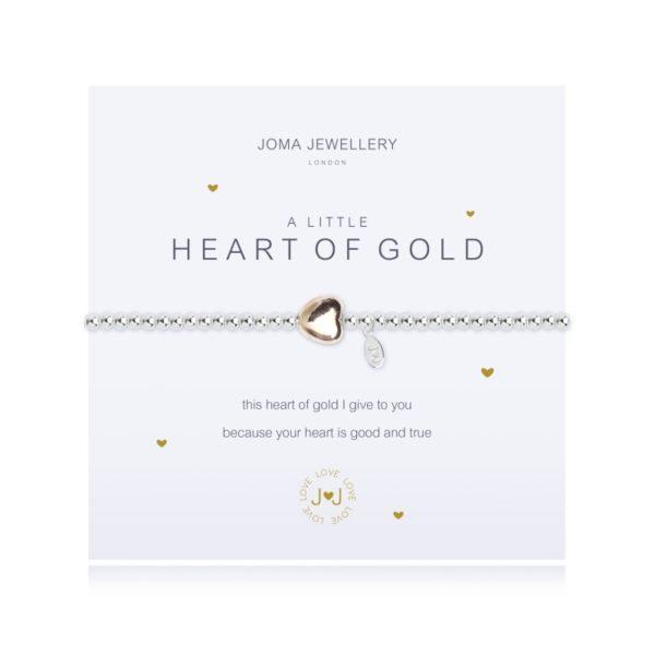 A Little Heart of Gold Joma Jewellery bracelet