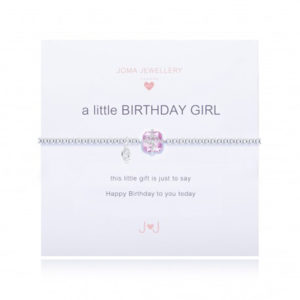 A Little Birthday Girl Joma Jewellery bracelet