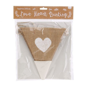 Heart Just Love Bunting
