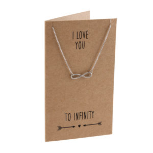 I Love You To Infinity necklace