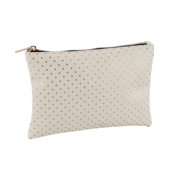 Polka Dot Makeup Bag Pouch