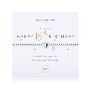 A Little Happy 18th Birthday Joma Jewellery bracelet