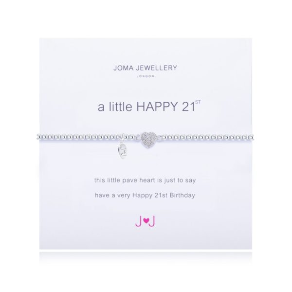 A Little Happy 21st Birthday Joma Jewellery bracelet