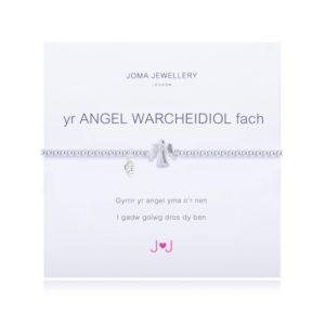 A Little Yr Angel Warcheidiol Fash Welsh Joma Jewellery bracelet