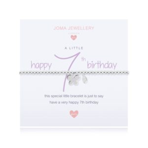 A Little Happy 7th Birthday Joma Jewellery bracelet