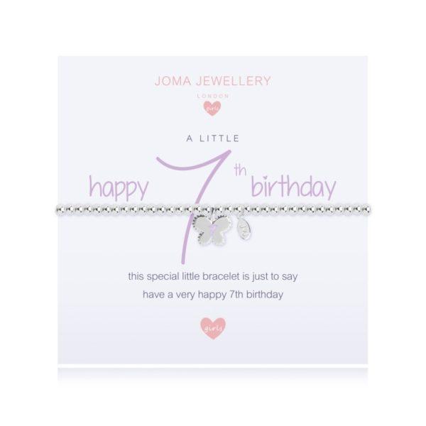 A Little Happy 7th Birthday Joma Jewellery bracelet