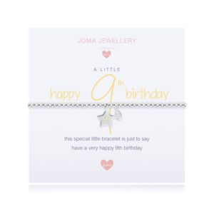 A Little Happy 9th Birthday Joma Jewellery bracelet