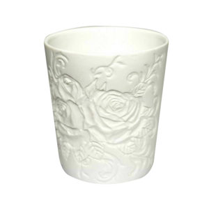 Porcelain Tealight candle holder English Garden