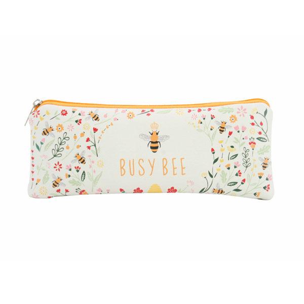 Busy Bee Pencil Case Makeup Bag