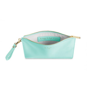 Katie Loxton Secret Message Pouch – Be Bright / Be Happy, Be Bright, Be You
