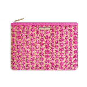 Pink Polly Pom Pom Katie Loxton Clutch Bag