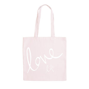 Love Katie Loxton Canvas Tote Bag