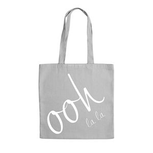 Ooh La La Katie Loxton Canvas Tote Bag