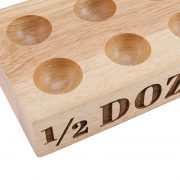 1/2 Dozen Wooden Egg Holder