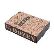 1/2 Dozen Wooden Egg Holder Gift Box