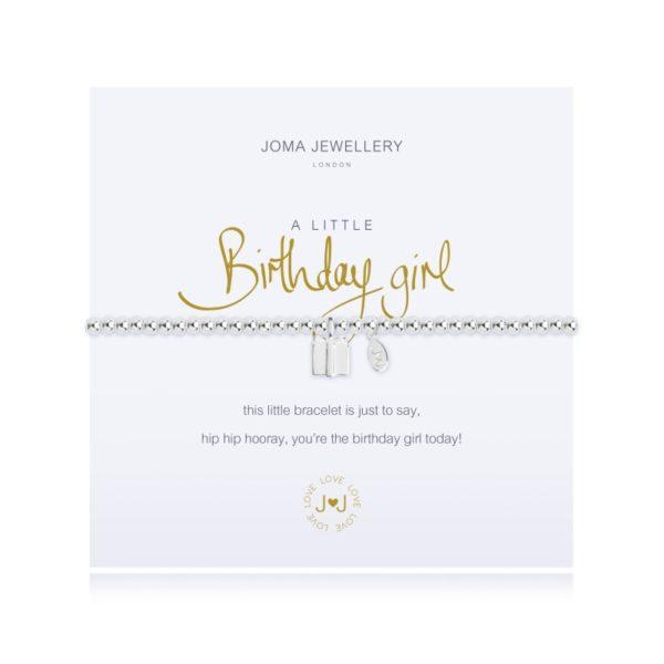 A Little Birthday Girl Joma Jewellery bracelet