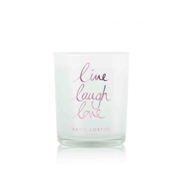 Katie Loxton Small Candle – Live Laugh Love