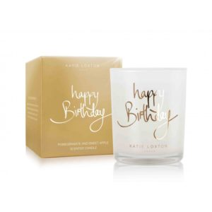 Katie Loxton Small Candle – Happy Birthday